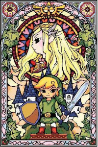 Amazing Legend of Zelda Cross Stitch Pattern